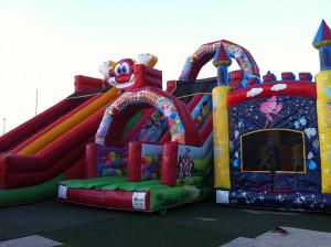 Circus slide, ha una discesa divertente e veloce